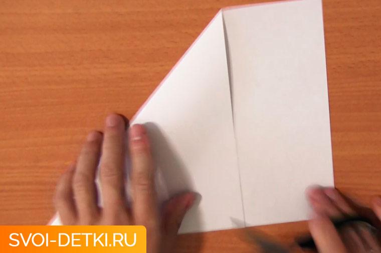 Оригами базовый элемент квадрат 2