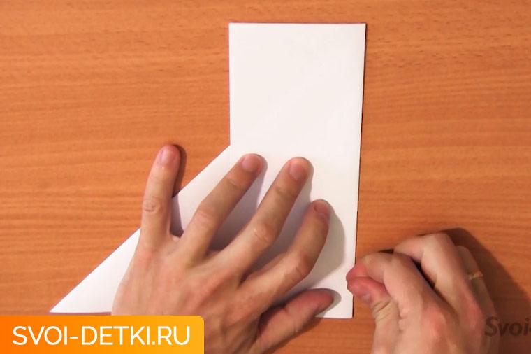 Оригами базовый элемент квадрат 5