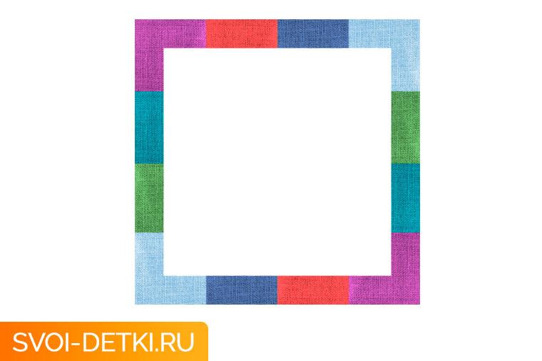 Оригами базовый элемент квадрат