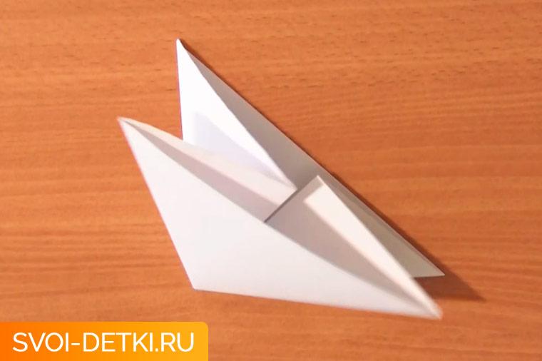 Оригами двойной треугольник
