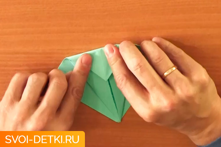 оригами журавлик 2