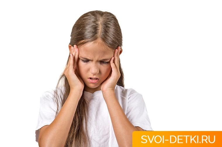 Мигрень у детей - характерные симптомы и помощь