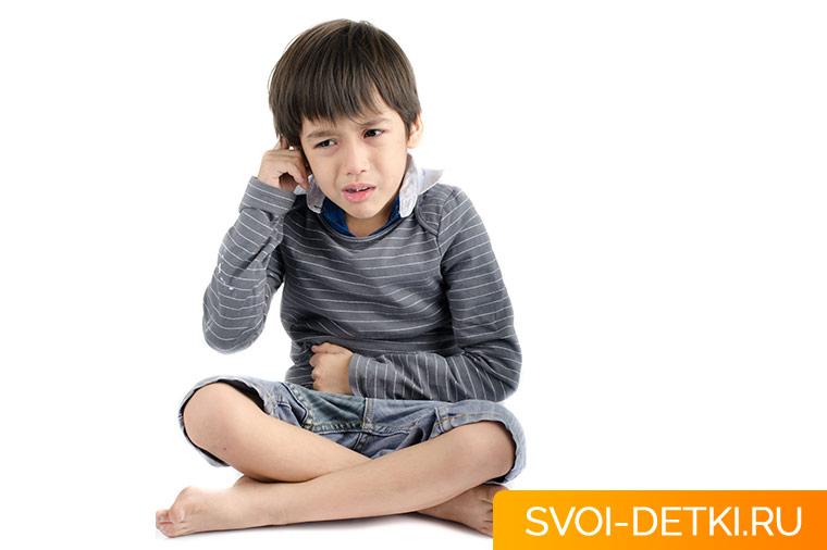 Ушная инфекция у ребенка