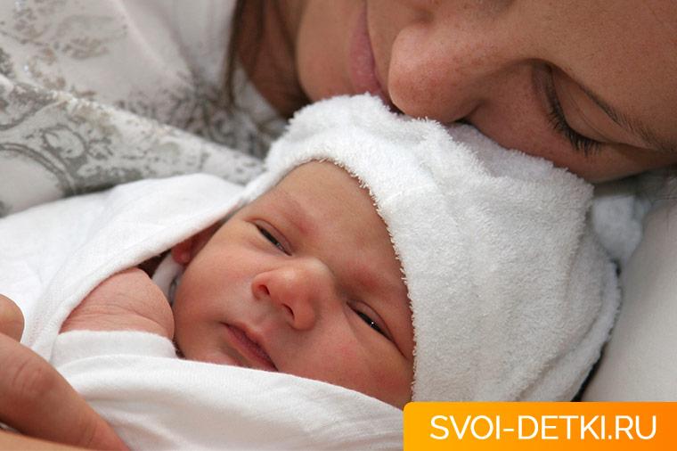 ребенок первая неделя жизни уход