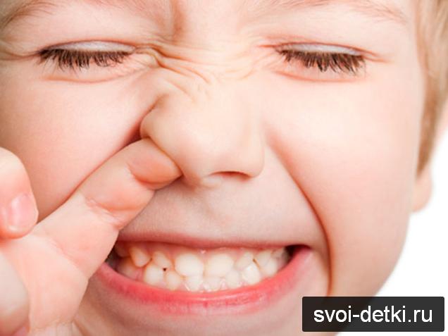 Почему у детей бывает кровь из носа