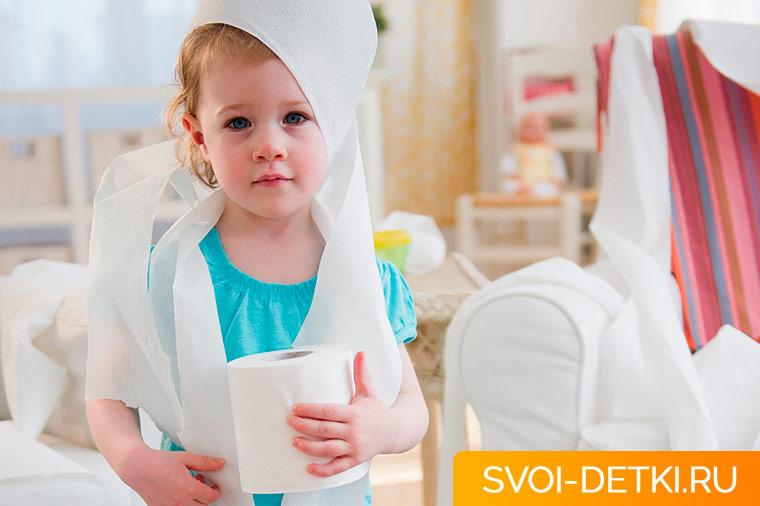 Как научить ребенка самостоятельно вытирать попу - советы и инструкции