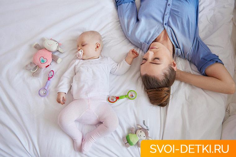 как спать новорожденному