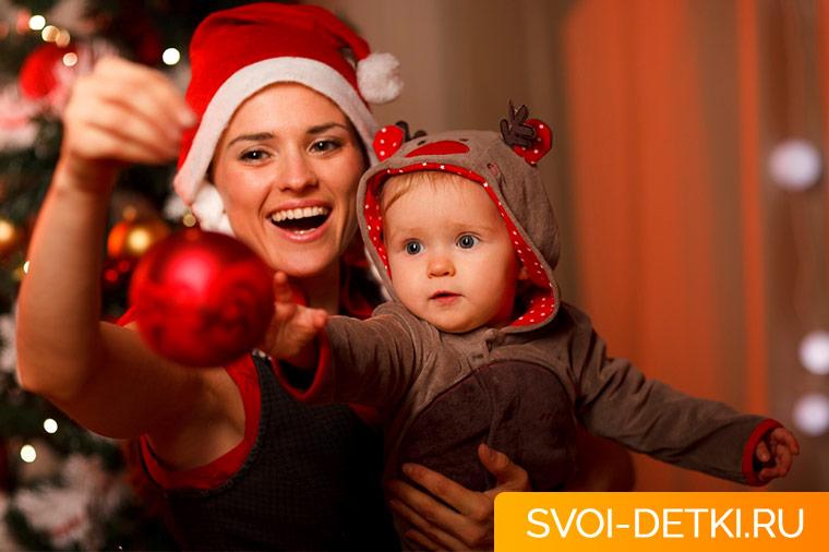 Ребенок и Новый год: как устроить быт в условиях праздников