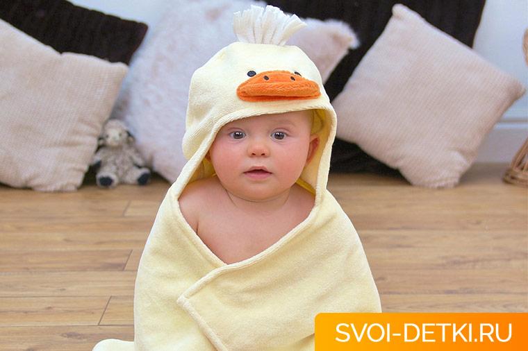 Что необходимо для купания младенца - современные банные приспособления