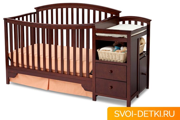 Как должна выглядеть кроватка для новорожденного