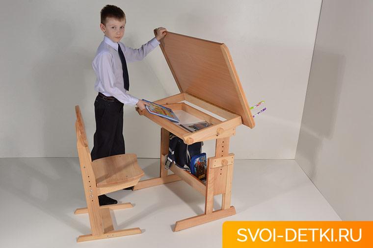 Каким должен быть стол для уроков