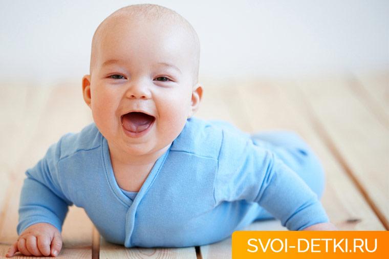 Гимнастика для младенца. Укрепление и развития мышц спины