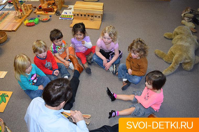 Детский сад: психологическая адаптация