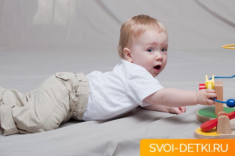 Массаж и гимнастика для младенца. Как укрепить мышцы спины малыша