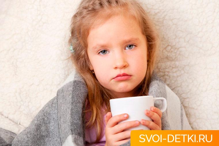Общие принципы питания ребенка во время простуды