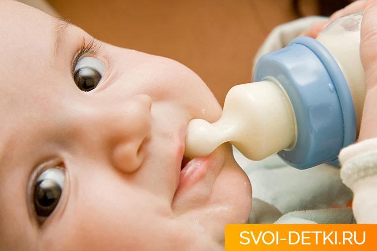 Какие бывают виды молочных смесей - основные типы
