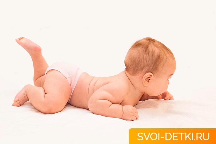 Укрепление мышц спины новорожденного