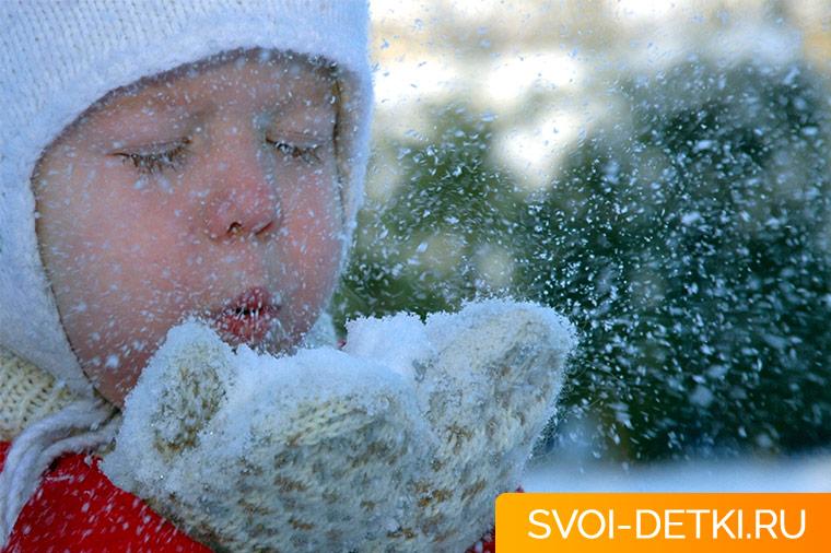 Как пользоваться детскими кремами от мороза и обветривания