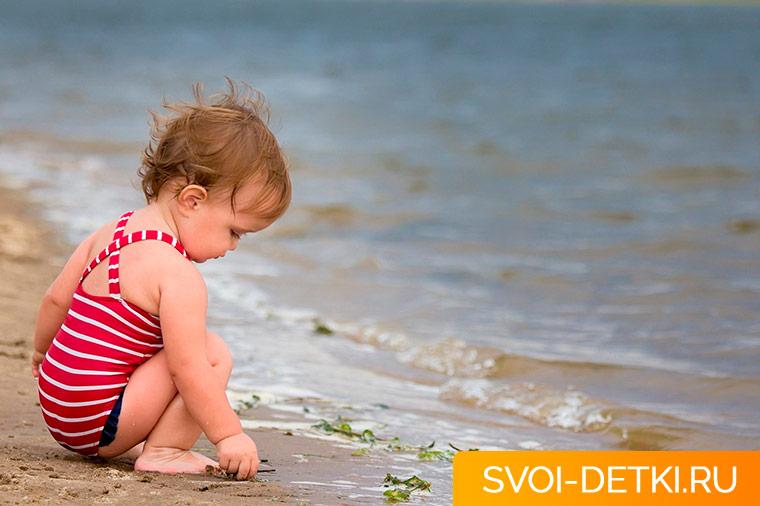 Детский крем от солнца, какой выбрать