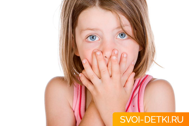 У ребенка неприятный запах изо рта - что с этим делать