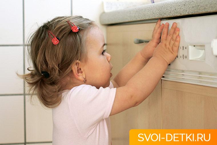 Безопасный дом - как обеспечить безопасность ребенка в доме. Кухня