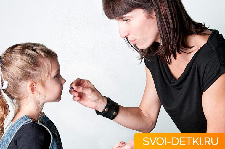 Как давать парацетамол ребенку