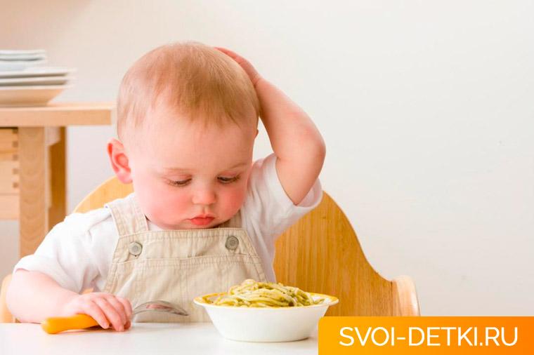 Почему ребенок плохо ест - психологические причины