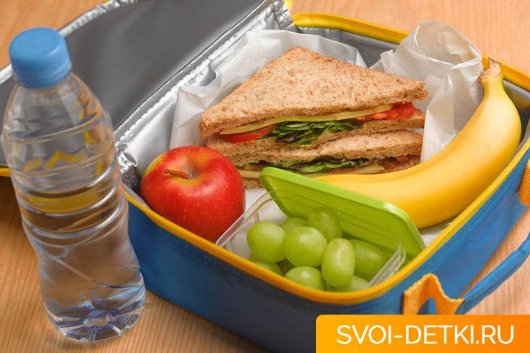 Школьный перекус: как собрать обед в школу