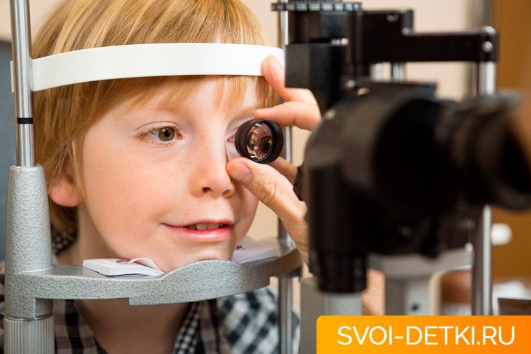Причины куриной слепоты у детей