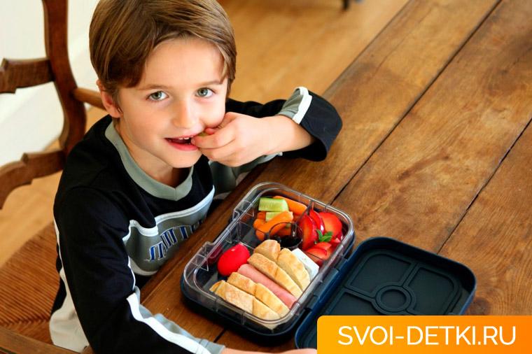 Как собрать обед в школу - основные правила