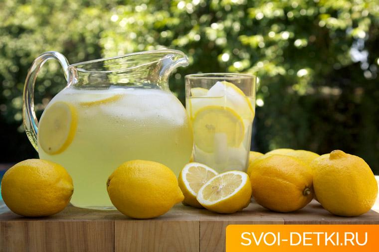 Влияние лимонада на организм ребенка