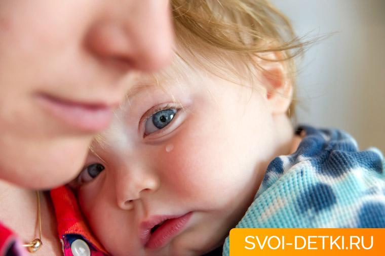 Помощь ребенку при легком ударе головой