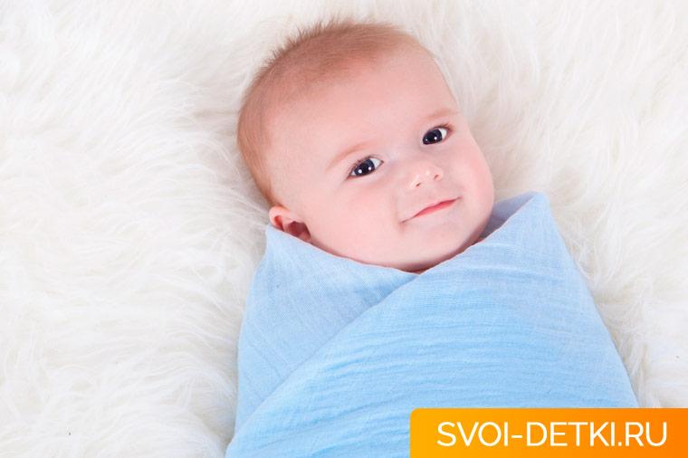 Как правило пеленать ребенка: алгоритм и рекомендации