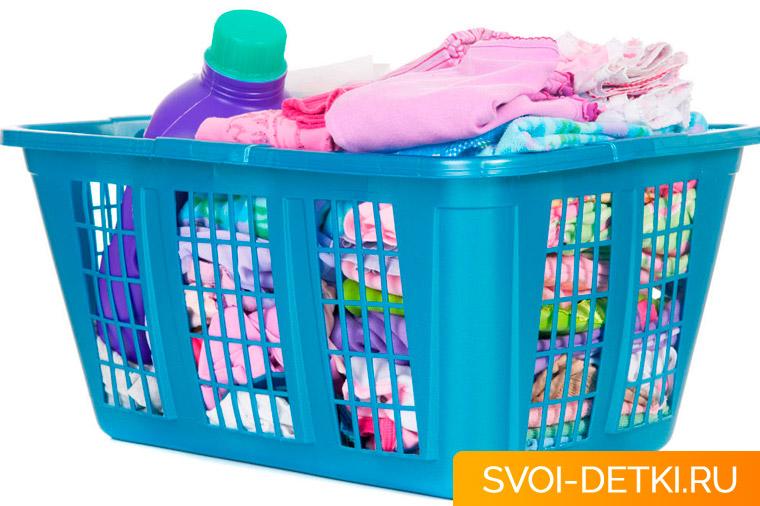 Чем и как стирать вещи новорожденного: правила и рекомендации