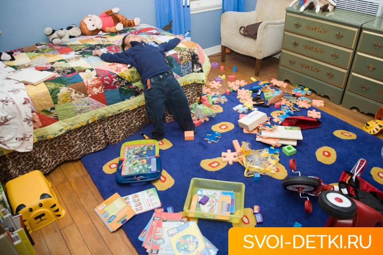 Как приучить ребенка убирать игрушки: способы мотивации, советы, нюансы