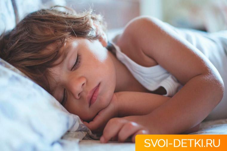 Ребенок плохо спит ночью - основные причины нарушений сна