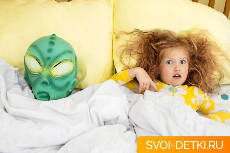 Как помочь ребенку побороть ночные страхи