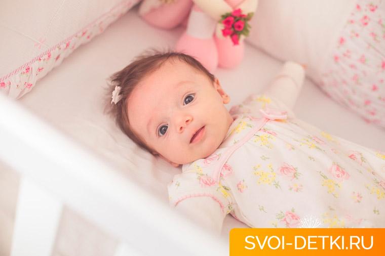 Развитие ребенка 1 месяц: что должен уметь ребенок