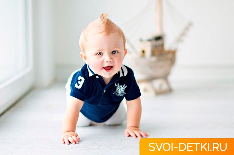 Развитие ребенка 7 месяцев: что должен уметь ребенок