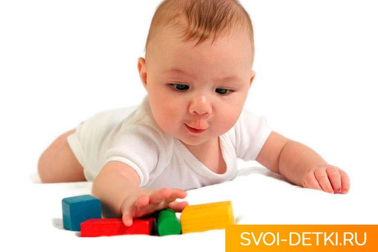 Развитие ребенка 5 месяцев: что должен уметь ребенок