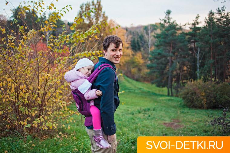 Как носить ребенка в рюкзаке и долго не уставать