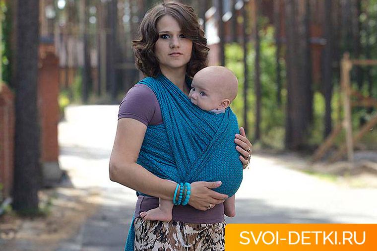 Как носить слинг в жару: советы по ношению ребенка в переноске летом