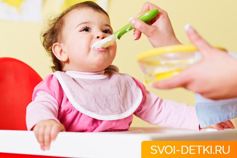 Прикорм: правила введения педиатрического прикорма, основные принципы