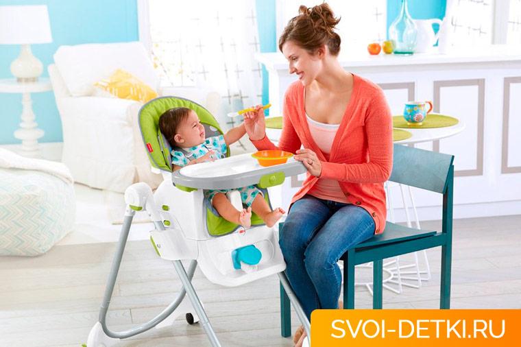 Как выбрать стульчик для кормления: критерии удобства и требования к безопасности