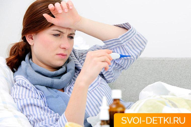 Мама заболела: можно ли кормить грудью при простуде